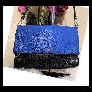 ♠️ Kate Spade Holden Leather Cross Body Bag w/ 14k
